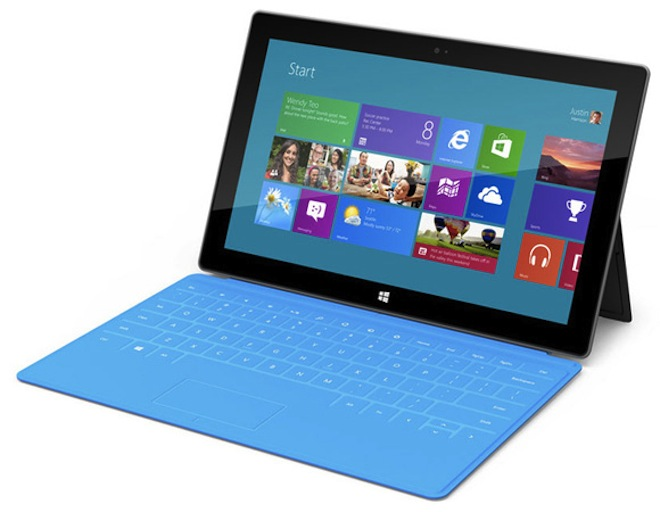 Планшет Surface   туманные перспективы Microsoft   Surface Microsoft iPad Intel Google Apple Amazon