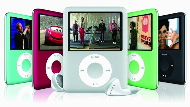 История развития iPod nano   Стив Джобс ipod nano 7g iPod nano iPod mini click wheel Apple