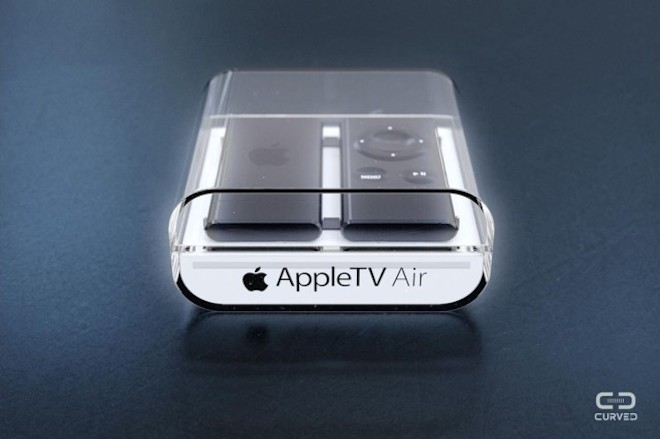 Концепт Apple TV Air не похожий на классику   концепт Apple TV Air Apple TV AirPlay
